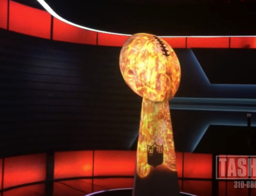 ESPN Lombardi Trophy Video Mapping
